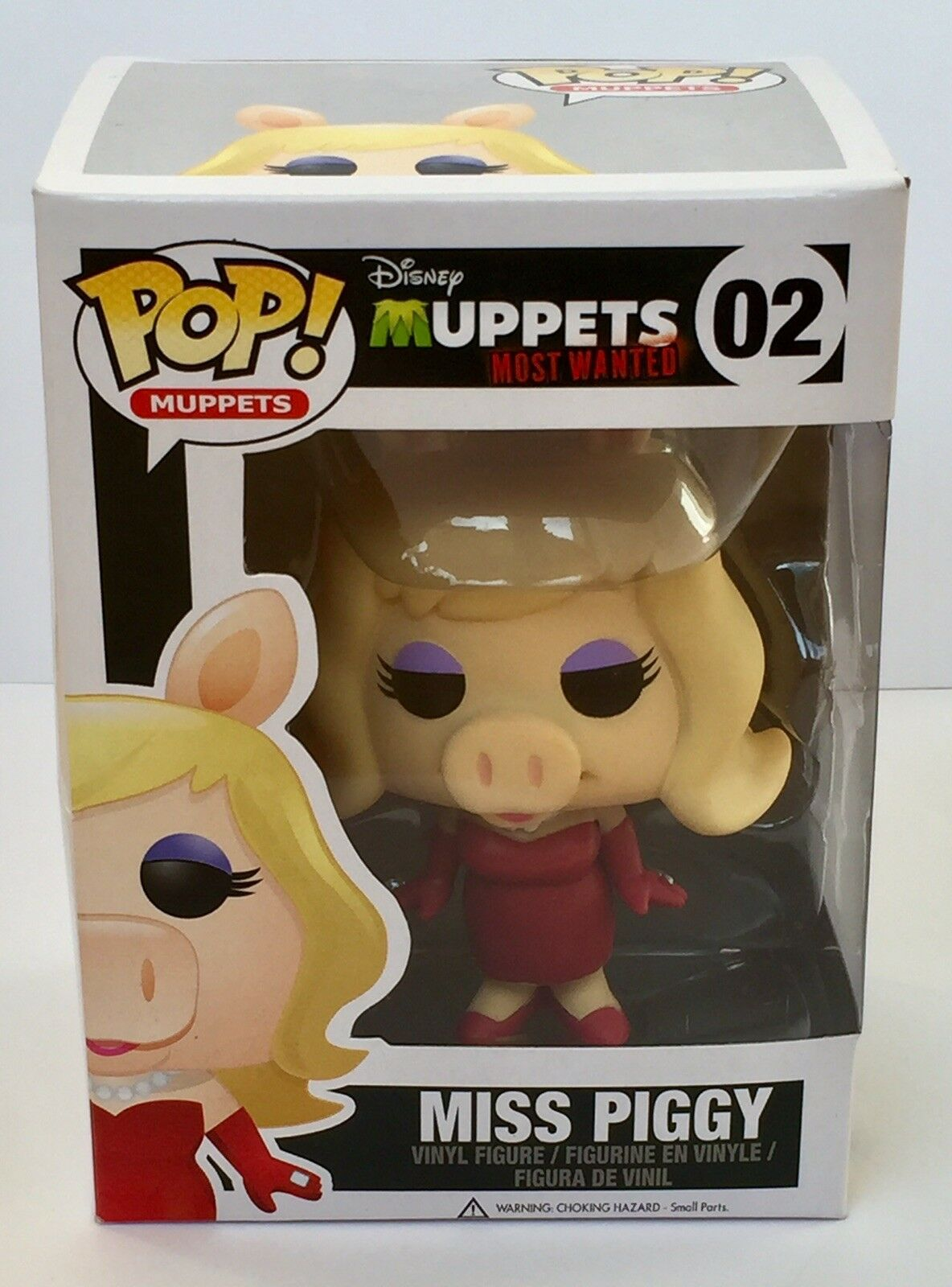 The Muppets Miss Piggy Funko Pop Vinyl Figure Vaulted & Predector