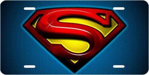 Superman Vanity Novelty License Plate