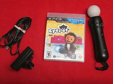 PlayStation 3 Eyepet Move Bundle With Eye Camera And Motion Controller 1610