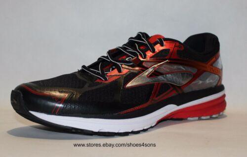 Ravenna course de 7noirrayéargentélargeur Chaussures Brooks hommes moyen pour D QBrEexodCW