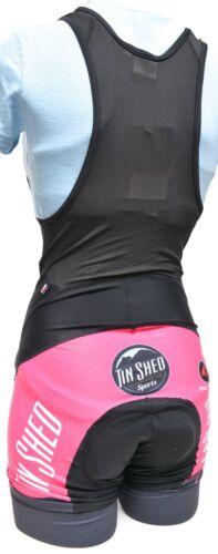 Pactimo Tin Shed Sports Cycling Bib Shorts Women XS S M L Road Mountain Bike MTB