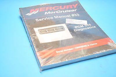 Mercury Mariner Service Shop Repair Manual #33 PCM 555 DIAGNOSTICS 90-863757002