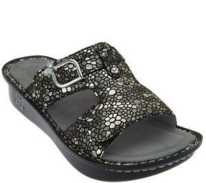Alegria-by-PG-Lite-Peggy-Leather-Slides-Sandals-Womens-38-8-8-5-Pewter-Mosaic