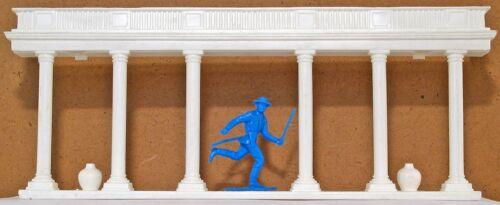 Marx Recast Civil War Mansion Portico LOW STOCK! 54mm unpainted hard plastic