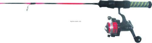 "New HT Lady Ice Combo 25/"" Medium Spin 1BB Reel LIC-25MSC"