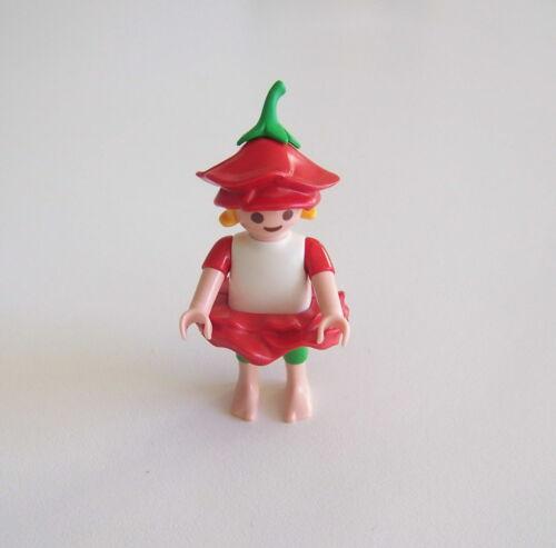 H905 FEERIQUE PLAYMOBIL Petite Fée Rouge Blanche /& Verte 4197