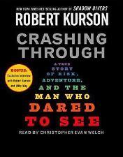 BOOK/AUDIOBOOK CD Robert Kurson Vision Medicine Unabridged CRASHING THROUGH
