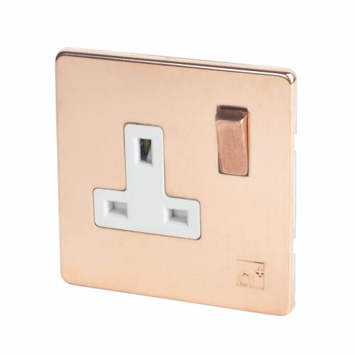 Switches Lights Sockets Stainless Steel Copper NEW