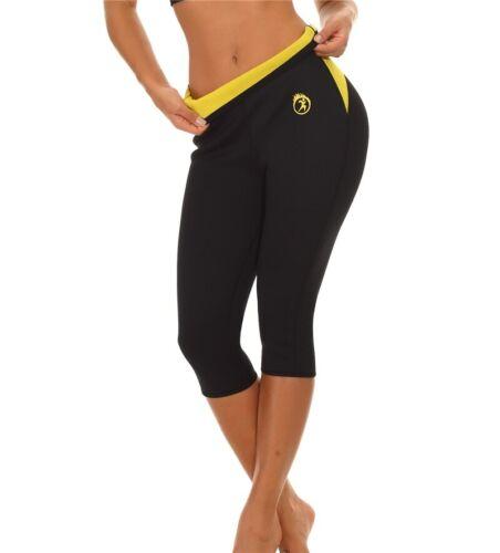 Hot Pants Tummy Control Panties Sliming Short Neoprene Sweat Body Shaper Workout