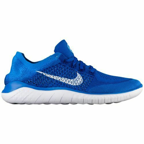 Nike Game Free RN Flyknit 2018 Game Nike Royal Blue Mens Running All NEW d7c734