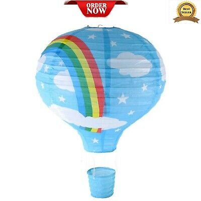 Rainbow Lampshade Decor Kids Bedroom