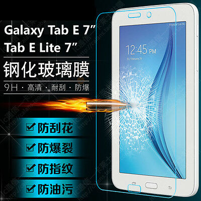 """9H Protective Screen Protector F Samsung Galaxy Tab E Lite 7.0/"""" SM-T113N Tablet"""