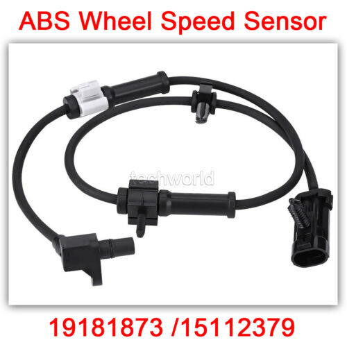 15112379 ABS Wheel Speed Sensor Front Left /& Right OEM# 15037208 15112378