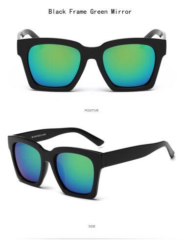 Mens Sunglasses Mirrored Retro Large Oversized Square Designer Eyewear Shades