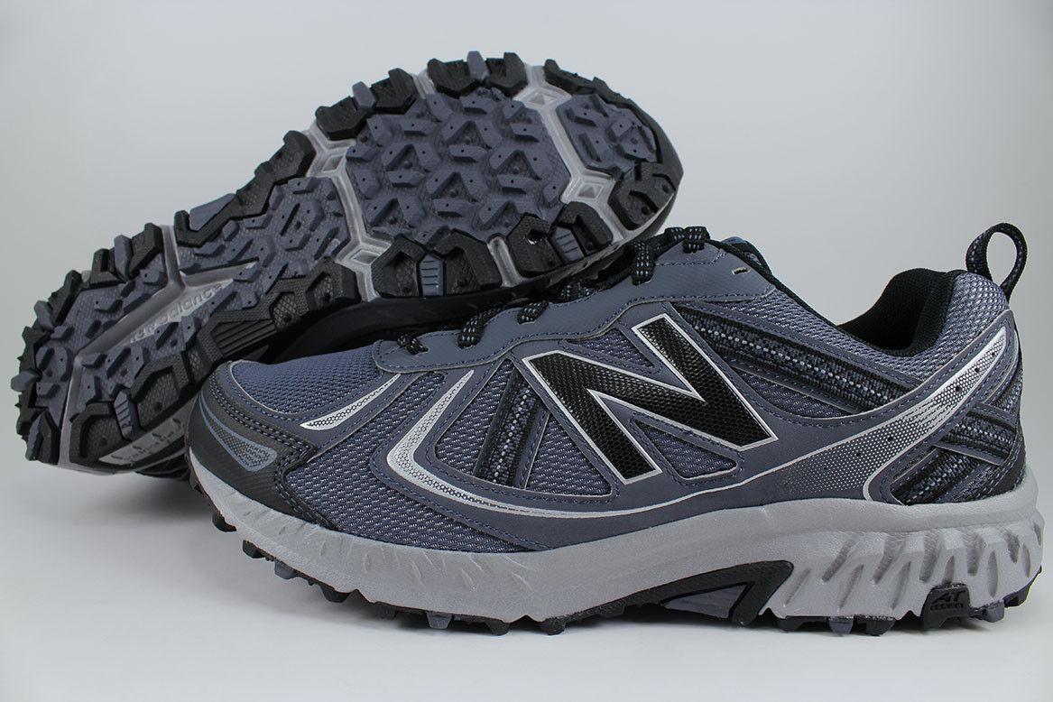 New balance 410 de ancho 4E EEEE Azul gris Negro Trail Running Senderismo MT410LT5 para hombre