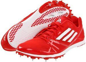 Adidas Adizero Avanti 2 Men's Red White V20244 Track & Field Sz 13 NWT