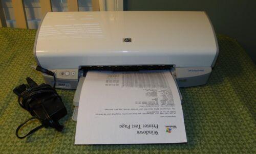 HP Deskjet D4160 Digital Photo Inkjet Printer