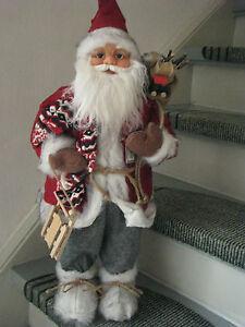 Art-70855-Santa-62cm-Weihnachtsmann-Nikolaus-Weihnachten-Weihnachtsdeko-NEU
