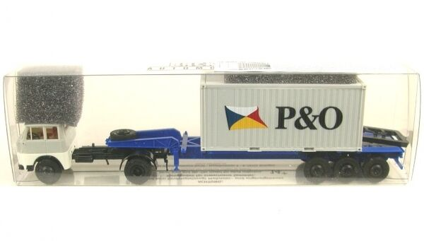 Henschel Hs 16 Ts Container Semitrailer P&o