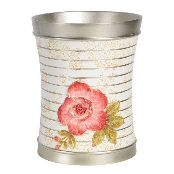 Popular Bath Madeline Beige Collection Bathroom Waste Basket Fabrieken En Mijnen