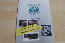 120546) Daewoo Nexia - Espero - Zubehör - Prospekt 06/1995