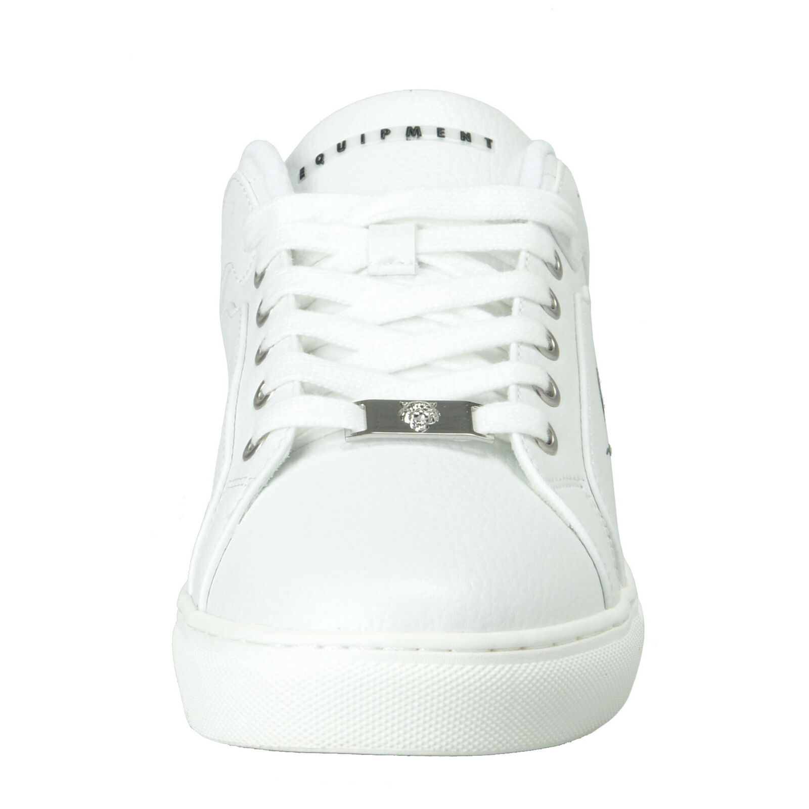 Plein Sport  Julian  White White White Low Top Fashion Sneakers shoes 8 8.5 9.5 10 de3b9a