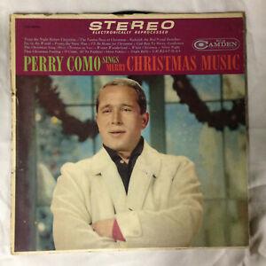 """Perry Como - Sings Merry Christmas Music vinyl 12"""" RCA Camden CAS 660(e) reissue   eBay"""