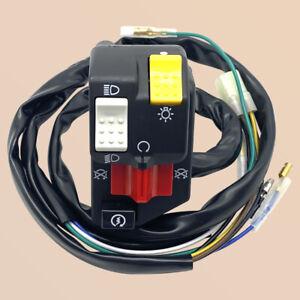 Handlebar Switch Start Stop Headlight for Honda TRX250 2x4 Recon 250 1997-2001