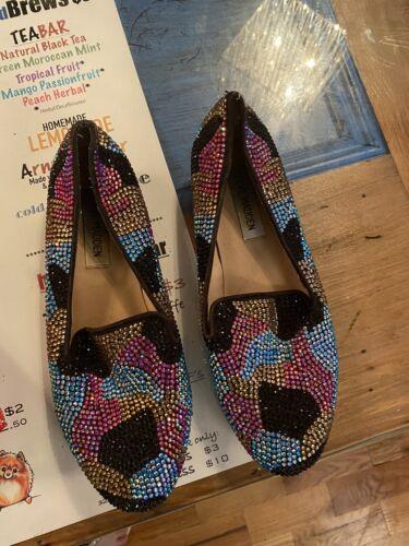 Steve Madden rainbow Crystal Shoes