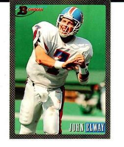 cde22bc1a4d Details about 1993 Bowman  400 John Elway - Denver Broncos - Hall of Famer