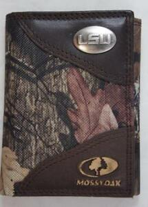 ZEP PRO Buck Deer MOSSY OAK Camo Trifold Wallet TIN BOX