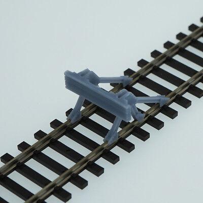 Outland Models Model Railroad Track Buffer//Stop 4 pcs HO Scale 1:87