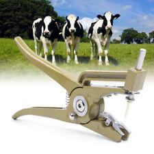 Cattle Ear Tag Plier Animal Livestock Marking Hole Sheep Pig Goat Cow Heavy Duty