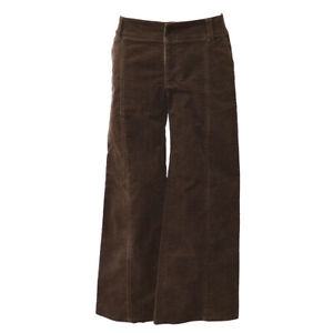 Burberry-Blue-Label-Long-Wide-Pants-Brown-38-Authentic-01765