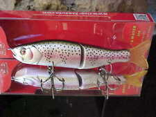 """Pike//Muskie River2Sea 6 3//4/"""" 1 5//8oz S-WAVER SW168S//11 Swimbait Lure for Bass N"""