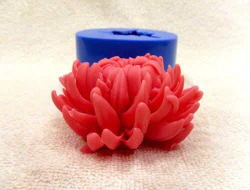 """/""""flor del crisantemo/"""" Molde De Silicona Para Moldes de jabón y velas hacer molde"""