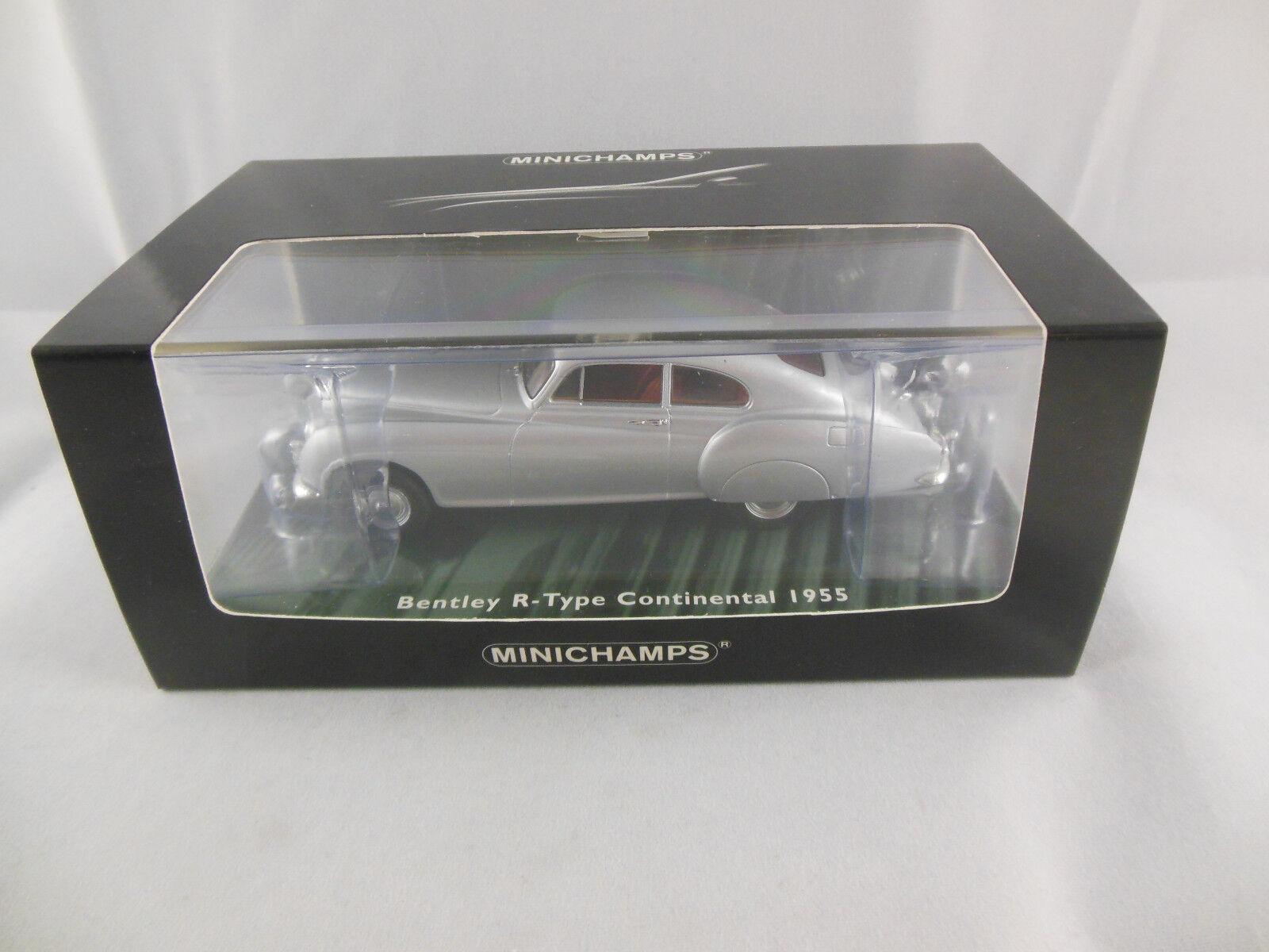 Minichamps 436 139421 1955 Tipo R Bentley Continental en Plata Ltd Ed 1 de 2208