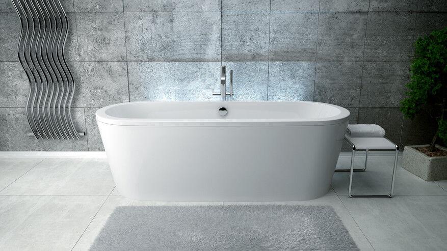 BESCO FREE STANDING BATH VICTORIA 185CM  TOP QUALITY DESIGNER PRODUCT