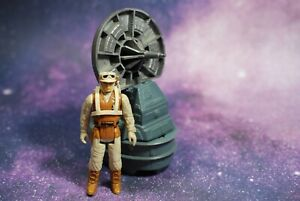 VINTAGE-Star-Wars-COMPLETE-RADAR-LASER-CANNON-HOTH-REBEL-SOLDIER-FIGURE-KENNER