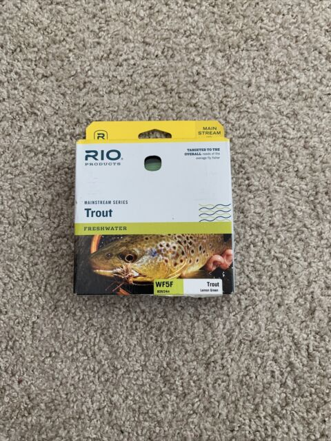 Rio Mainstream Series Trout Fly Line Wf5f Lemon Green 80ft for sale online