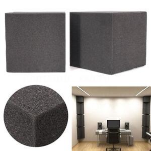2Pcs-Soundproof-Studio-Acoustic-Corner-Cube-Bass-Trap-Foam-C