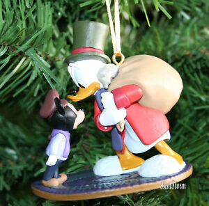 Scrooge Mcduck Christmas.Details About Custom Disney Ebenezer Scrooge Mcduck Tiny Tim Mickey Christmas Carol Ornament