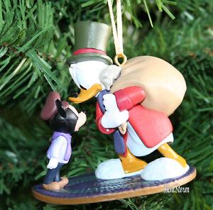 Christmas Carol Scrooge Mcduck.Details About Custom Disney Ebenezer Scrooge Mcduck Tiny Tim Mickey Christmas Carol Ornament