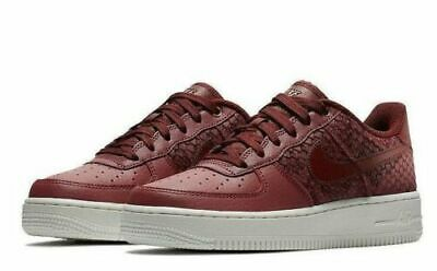NIKE AIR FORCE 1 '07 LV8 PORTDARK TEAM RED MENS SIZE 10 NEW 823511 602 884497543178 | eBay