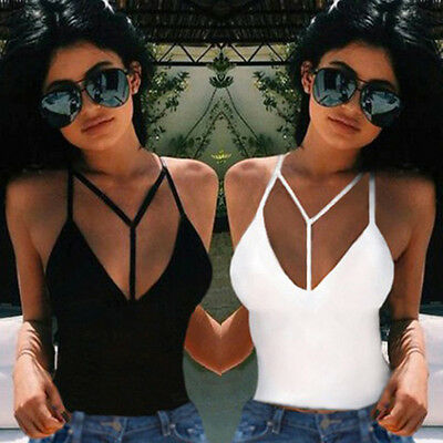 Sexy Women's Fashion Summer Vest Top Sleeveless Blouse Casual Tank Tops T-Shirt