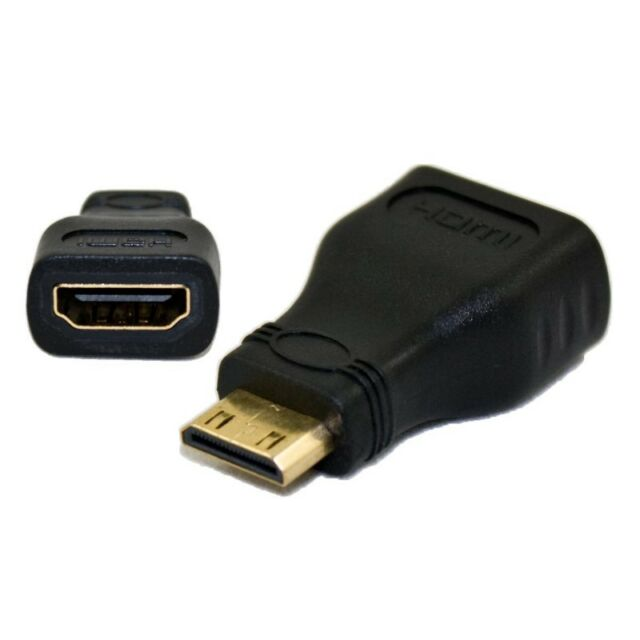 Mini HDMI Male to HDMI Female Adapter Connector For HDTV
