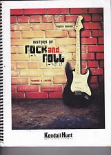 History of Rock and Roll with Rhapsody 4th Ed SEE PICTURES & DESCRIPTION!!