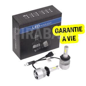 kit ampoules led h7 6000k blanc pur auto moto 10000 lumens feu phare ebay. Black Bedroom Furniture Sets. Home Design Ideas