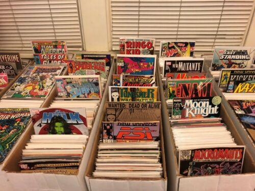 YOU PICK Over 1600 Marvel Comic Books $4 Shipping Any Quantity $1.00 Each