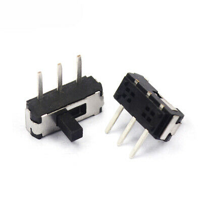 50pcs MSK-12D19 1P2T 3pins 2 positions mini switch slide switch toggle switch SM